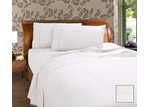 Kingdom 225 Thread Count Percale Cotton and Polyester Sheet Set