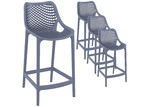 Furnlink 65cm Horace Outdoor Barstools (Set of 4)