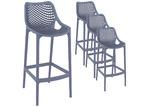 Furnlink 75cm Horace Outdoor Barstools (Set of 4)