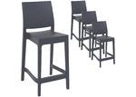 Furnlink 65cm Miraya Outdoor Barstools (Set of 4)