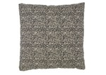 Rapee Black Riddle Cotton Cushion