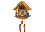 Trenkle Happy Wanderer Quartz Musical Cuckoo Clock