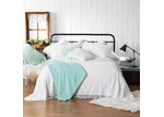 Bianca White Kalia Cotton Bedspread Set
