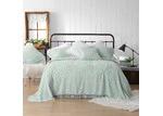 Bianca Spearmint Kalia Cotton Bedspread Set