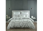 Bianca Grey Alexandria Quilt Cover Set