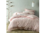 Bianca Pink Savannah Cotton Quilt Cover Set