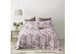 Bianca Lilac Dahlia Cotton Bedspread Set