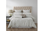 Bianca Taupe Balerno Quilt Cover Set