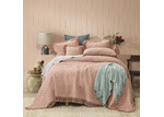 Bianca Blush Keira Cotton Coverlet Set