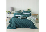 Bianca Warm Teal Quilted Yaxley Coverlet Set