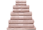 Bianca 9 Piece Reid Turkish Cotton Bath Towel Set