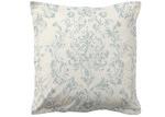 Bianca Teal Aria Cotton European Pillowcase