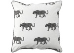 Bianca Black Leopard European Pillowcase