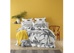 Bianca Black Leopard Quilt Cover Set