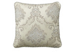 Bianca Taupe Dorset Square Cushion