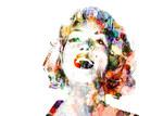 Art Illusions Marilyn Abstract Hair
