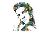 Art Illusions Elvis Abstract Hair