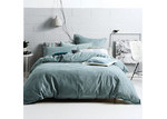 Linen House Stone Willow Quilt Cover Set