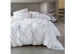 Linen House Drift White Quilt Cover Set