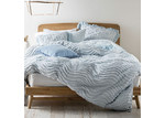 Linen House Drift Soft Blue Quilt Cover Set