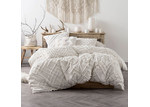 Linen House White Sanura Quilt Cover Set