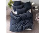 Linen House Navy Jerome Quilt Cover Set
