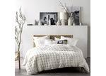 Linen House Cream White Haze Cotton Quilt Cover Set