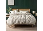 Linen House Natural Nimes Linen Quilt Cover Set