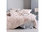 Linen House Pink & White Haze Cotton Quilt Cover Set