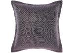 Linen House Plum Chevron Filament European Pillowcase