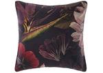 Linen House Wine Floral Neve Cotton European Pillowcase