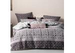 Linen House Wine Mariana Cotton Quilt Cover Set