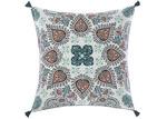 Linen House Block Printed Wategos Cotton European Pillowcase