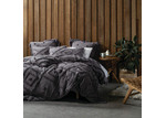 Linen House Charcoal Adalyn Cotton Quilt Cover Set