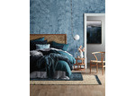 Linen House Indigo Adalyn Cotton Quilt Cover Set