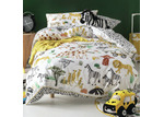 Linen House In With The Herd Cotton Quilt Cover Set