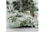 Linen House Mint Glasshouse Cotton Quilt Cover Set
