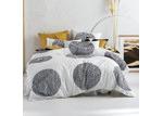 Linen House Black & White Dotted Pani Cotton Quilt Cover Set