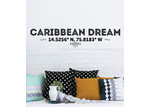 Little Sticker Boy Caribbean Dream Lattitude Wall Decal
