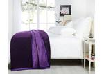 Grand Atelier Purple Luxury 500gsm Mink Blanket