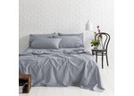 Canningvale Denim Melange Vintage Soft Wash Cotton Sheet Set