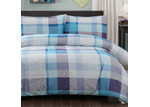 Dreamaker Faded Dreamaker Printed Egyptian Cotton Quilt Cover Set