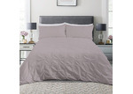 Dreamaker Mink Diamond Microfibre Quilt Cover Set