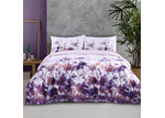 Dreamaker Printed Floral Cotton Quilt Cover Set