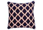 Canvas & Sasson Bermuda Navy/Orange Lantern Cushion