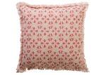 Canvas & Sasson Flora Crabapple Cotton Cushion