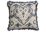Canvas & Sasson Grey Loom Turin Cotton Cushion