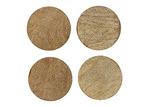 Ecology Arcadian 10cm Wooden Coasters (Set of 4)