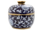 Florabelle White & Blue Orient Porcelain Spice Urn