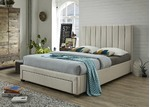 VIC Furniture Derry Queen Bed with 1 Drawer